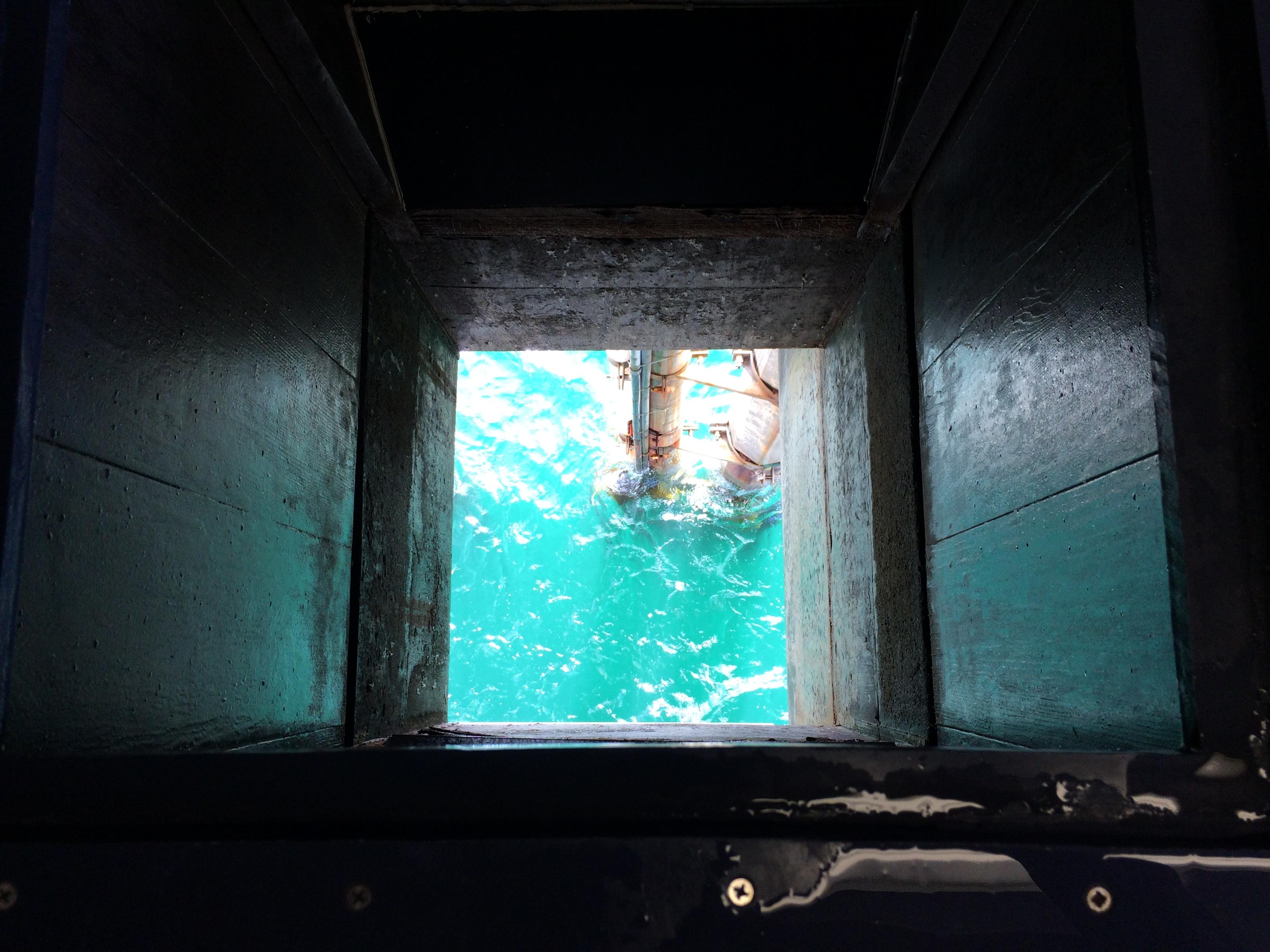 SIO Pier sampling well